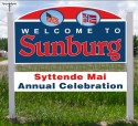 15th Annual Sunburg Syttende Mai Celebration