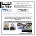 Lunch with Leaders – Emergency Services