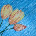 "Lark's Market: Make & Take Canvas ""Spring Tulips"""