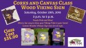 Corks and Canvas Class – Vikings Class