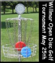 Willmar Open Disc Golf Tourney