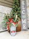 Make and Take Fresh Cut Holiday Bucket