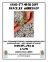 Hand-Stamped Cuff Bracelet Workshop